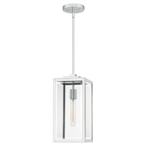 Ferguson Polished Nickel One-Light Mini Pendant