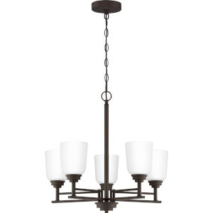 Foley Old Bronze 22-Inch Five-Light Chandelier