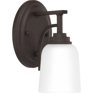 Foley Old Bronze Five-Inch One-Light Bath Vanity