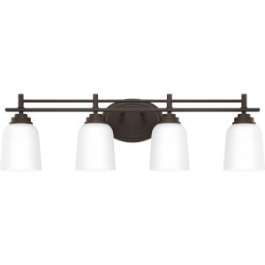 Foley Old Bronze 30-Inch Four-Light Bath Vanity
