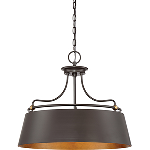 Fairview Western Bronze Four-Light Pendant