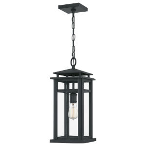 Granby Earth Black One-Light Outdoor Pendant