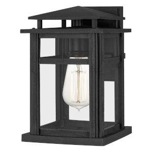 Granby Earth Black 11-Inch One-Light Outdoor Wall Mount