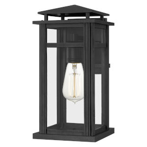 Granby Earth Black 15-Inch One-Light Outdoor Wall Mount