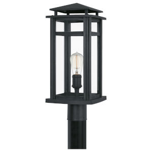 Granby Earth Black One-Light Outdoor Post