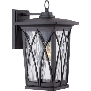 Grover Mystic Black Eight-Light Outdoor Wall Sconce