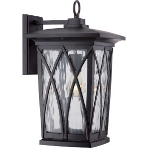 Grover Mystic Black Ten-Inch Outdoor Wall Sconce