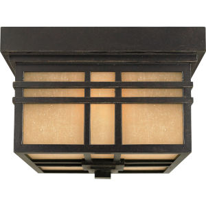 Hillcrest Outdoor Flush Ceiling Light