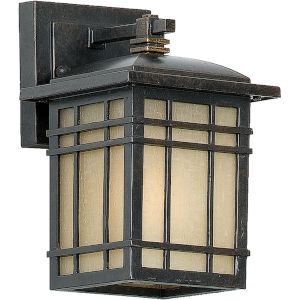 Hillcrest Imperial Bronze Small Outdoor Wall Lantern