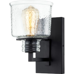 Holden Earth Black One-Light Wall Sconce