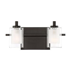 Kolt Western Bronze Two-Light LED Bath Vanity