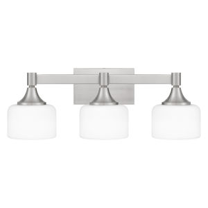 Ladson Brushed Nickel Three-Light Bath Vanity