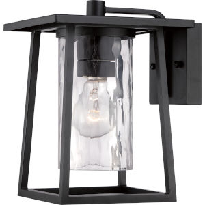 Lodge Mystic Black 10.50-Inch One Light Outdoor Wall Fixture