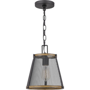 Lindstrom Matte Black One-Light Mini Pendant