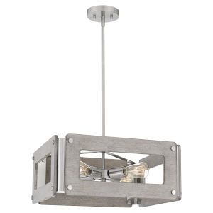 Lonny Brushed Nickel Four-Light Pendant