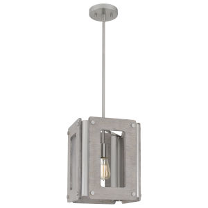 Lonny Brushed Nickel One-Light Pendant
