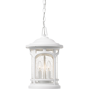 Marblehead Fresco Three-Light Outdoor Pendant