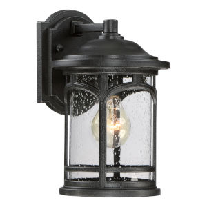 Marblehead Mystic Black 7-Inch One-Light Outdoor Wall Lantern