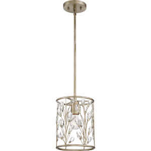 Meadow Lane Vintage Gold One-Light Mini Pendant