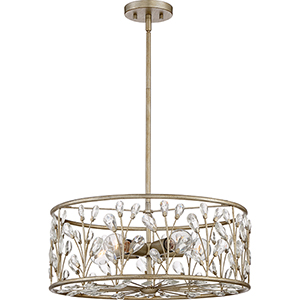 Meadow Lane Vintage Gold Five-Light Pendant