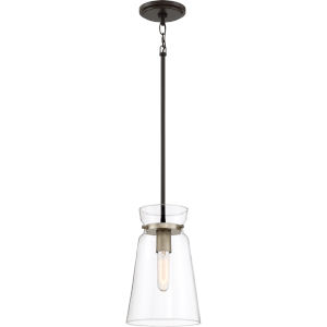 Midnight Western Bronze One-Light Mini Pendant
