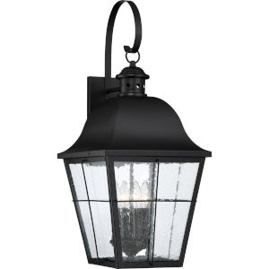 Millhouse Mystic Black Four-Light Outdoor Wall Sconce