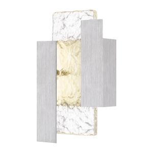 Miranda Brushed Aluminum LED Outdoor Wall Mount