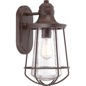 Marine Western Bronze 15-Inch One Light Outdoor Wall Fixture