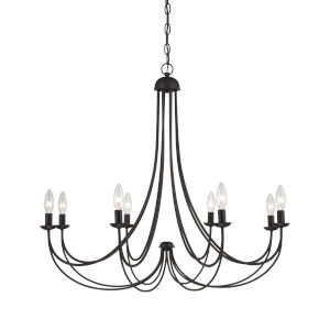 Mirren Imperial Bronze Eight-Light Chandelier