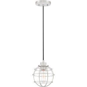 Navigator Brushed Nickel One-Light Mini Pendant