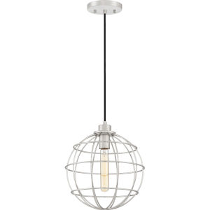 Navigator Brushed Nickel One-Light Pendant