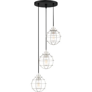 Navigator Earth Black 13-Inch Three-Light Pendant