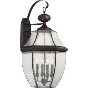 Newcastle Two-Light Outdoor Fixture