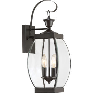 Oasis Bronze Two-Light Outdoor Fixture