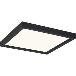 Outskirts Earth Black 11-Inch LED Flush Mount