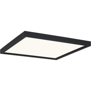 Outskirts Earth Black 15-Inch LED Flush Mount