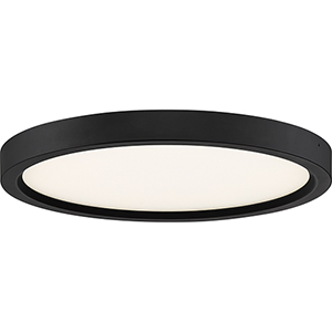 Outskirt Oil Rubbed Bronze 11-Inch  LED Flush Mount