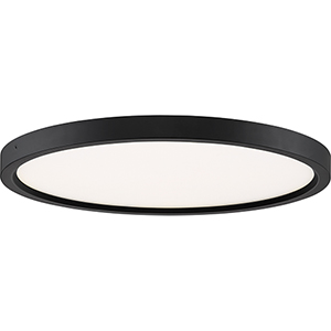 Outskirt Oil Rubbed Bronze 15-Inch LED Flush Mount