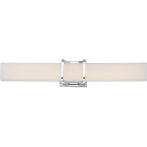 Platinum Collection Axis 25-Inch Polished Chrome LED Bath Light