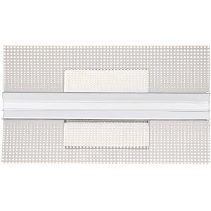 Platinum Collection Bravo Polished Chrome LED Wall Sconce