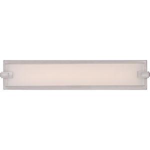 Platinum Collection Dash Brushed Nickel 22-Inch LED Bath Bar