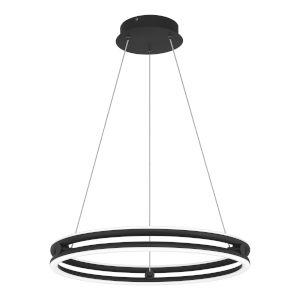 Graves Matte Black 20-Inch LED Pendant