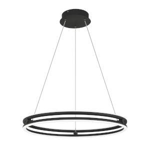 Graves Matte Black 24-Inch LED Pendant