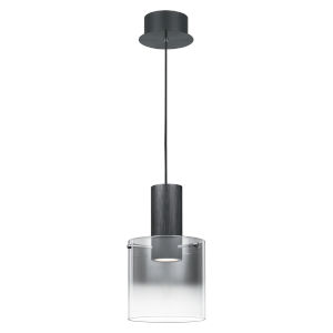 Kilmer Earth Black LED Mini Pendant