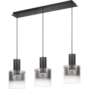 Kilmer Earth Black 40-Inch LED Chandelier