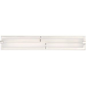 Platinum Collection Lateral Brushed Nickel 24-Inch LED Bath Vanity