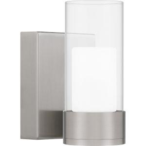 Logan Brushed Nickel LED Wall Sconce