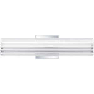 Mcnair Polished Chrome Five-Inch LED Bath Vanity