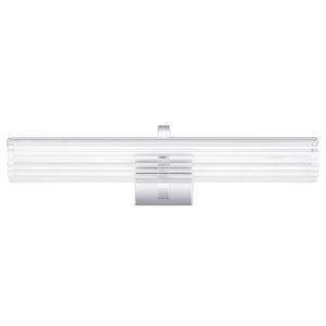 Mcnair Polished Chrome 24-Inch LED Bath Vanity