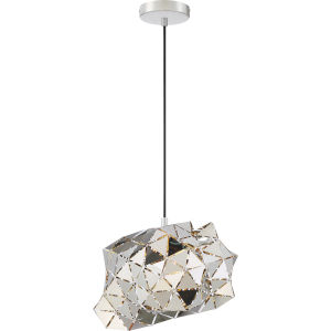 Scorpius Polished Chrome One-Light Pendant
